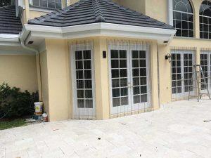 removable hurricane storm panels